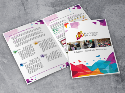 Diseño de Brochure – Fundación Evolución
